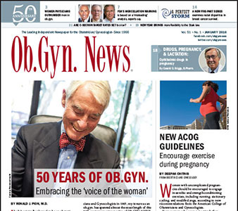 Ob.Gyn. News® Celebrates 50 Years