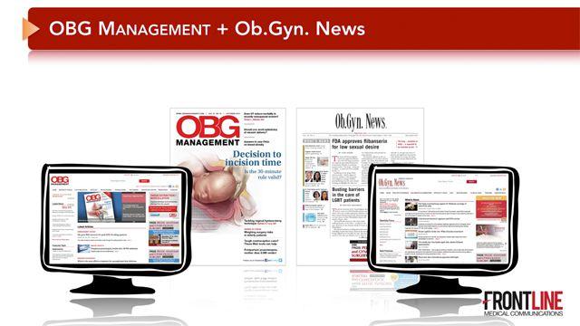 OBG Management + Ob.Gyn.News