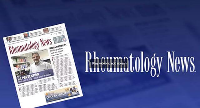 Rheumatology News