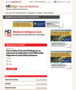 Self Assessment Quizzes - Frontline Medical Communications