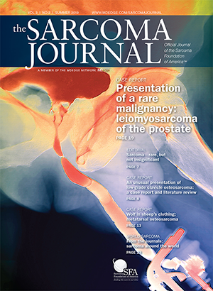 The Sarcoma Journal—Official Journal of the Sarcoma Foundation of America®