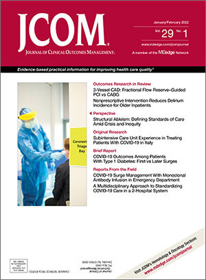 Journal of Clinical Outcomes Management®