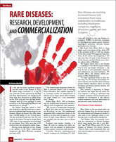 Rare Diseases: Research, Development, and Commercialization