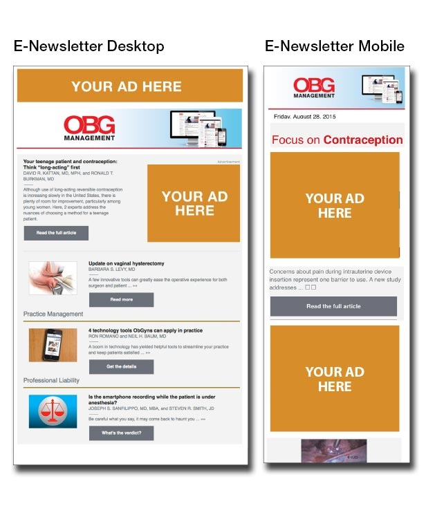 eNewsletter sample for the new corp site